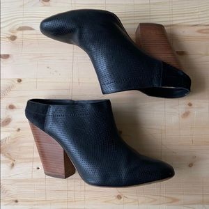 Anthropologie Heeled Mules